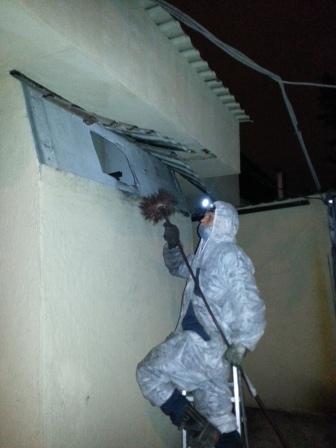 Чистка вентиляционной шахты