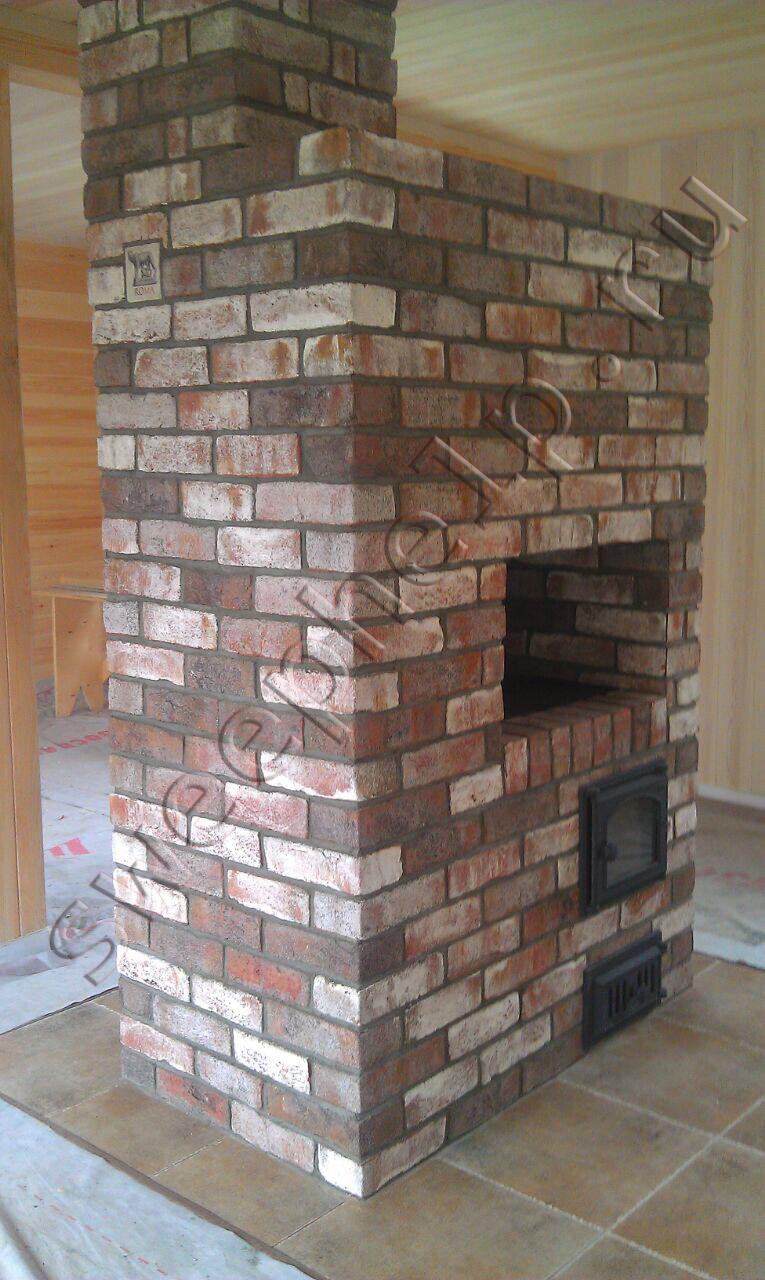 Облицовка печей и каминов стоимость работы дымоходы для бани в нижнем