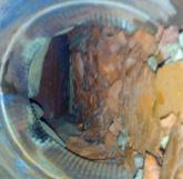 Кирпичная крошка в кладке
